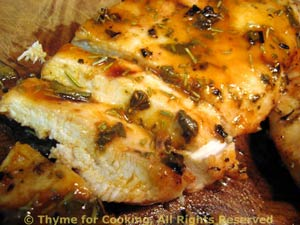 Chicken Breasts with Sage, Rosemary and Lemon