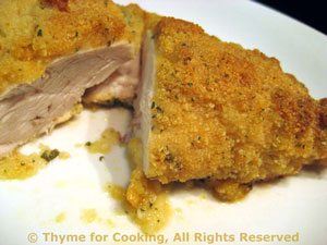 Baked Chicken Breasts with Mustard Crust