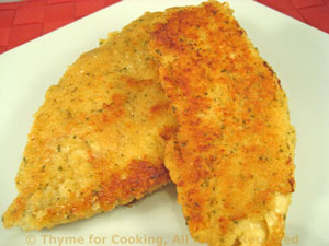 Mustard Fried Chicken Breasts