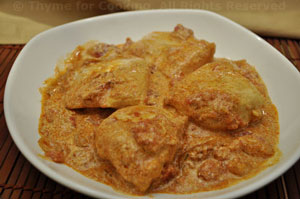 Chicken with Tomato/Yogurt Sauce
