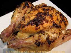 Cornish Game Hens with Herb Sauce
