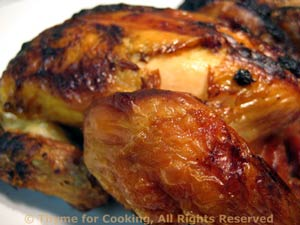 Brined and Grilled Cornish Hens