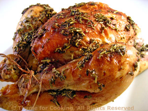 Roasted Cornish Games Hens