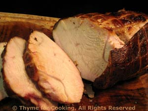 Grilled, Brined Turkey Breast with Allioli