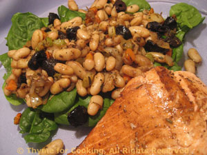 Salmon with Cannellini Salad
