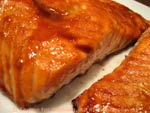 hot sweet salmon