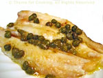 sole with capers