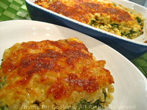 Creamy Barley and Chard Gratin