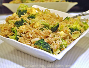 Fried Rice with Broccoli