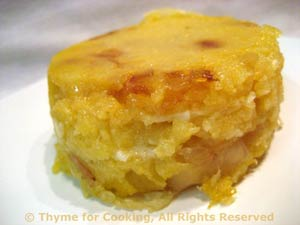 Polenta and Cheese Timbales