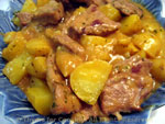 braised lamb with potatoes
