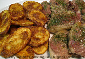 Baked Lamb Chops with Persillade