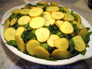 potatoes chard