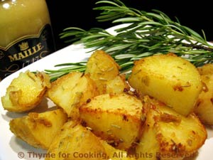 Grilled Dijon Potatoes