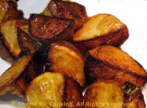 Roasted Potatoes with White Balsamic Vinegar