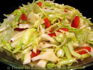 Slaw / Cabbage Salad Tangy Coleslaw (Cabbage Salad) Lettuce and Tomato ...