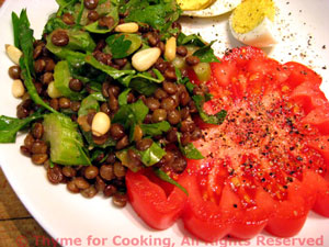 Lentil and Herb Salad