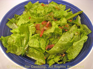 Wilted Lettuce Salad