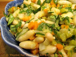 White Bean and Celery Salad