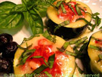 courgette cups