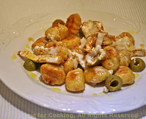 Fried Gnocchi with Goat Cheese