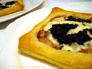 Goat Cheese and Tapenade Pastry