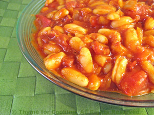 Alubias con Tocino (Beans with Bacon)