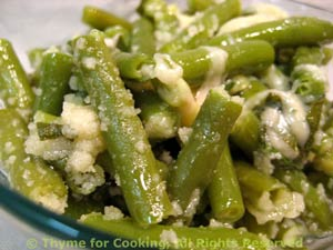 Green Beans with Parmesan
