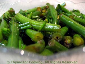 Crisp Green Beans with Soy Sauce