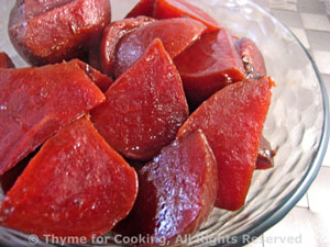 Balsamic Glazed Beets (Beetroot)