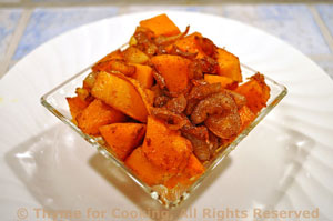 Sautéed Butternut Squash with Shallots