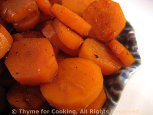 Sweet Sour Carrot Coins