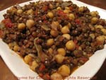 lentils with chickpeas