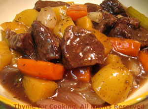Beef and Root Vegetable Stew