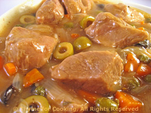 Braised Veal with Olives and Capers