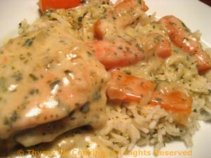 Creamy Chicken with Carrots