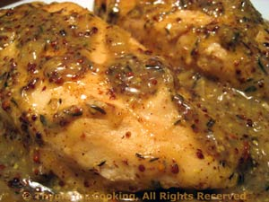 Chicken with Whole Grain Mustard Sauce