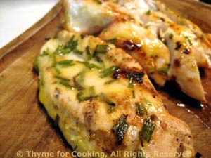 Grilled Tarragon Chicken Breasts