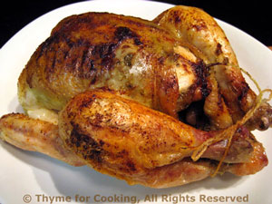 Cornish Games Hens (Poussin) with Pesto