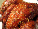 hens honey glazed