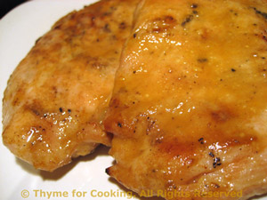 Teriyaki Orange Turkey Cutlets