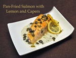 salmon capers