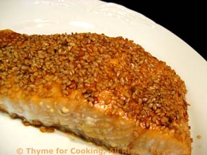 Sesame-Crusted Salmon
