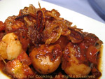 scallops with shallots