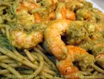 shrimp pesto