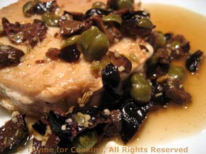 Pan-Seared Tuna with Capers