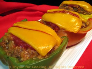 Stuffed Peppers, American Style