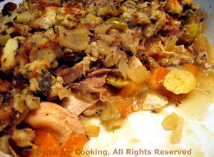 Turkey Stuffing Pie
