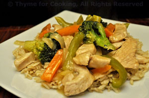 Stir-Fried Turkey with Broccoli