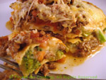 beef and Broccoli lasagne